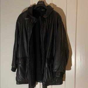 Hugo Boss Jackets & Coats - ✅ BOSS HUGO Boss Genuine Lambskin Leather Coat 54